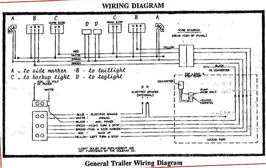 cer trailer wiring diagram car wiring diagrams